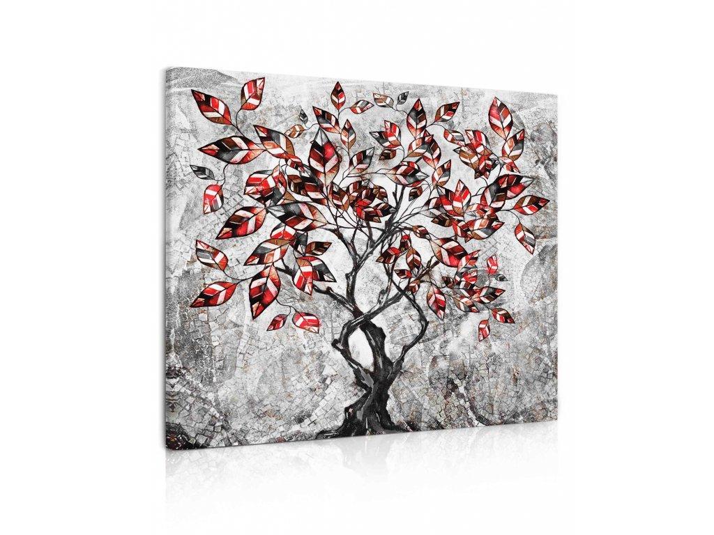 100362 obraz malovany strom