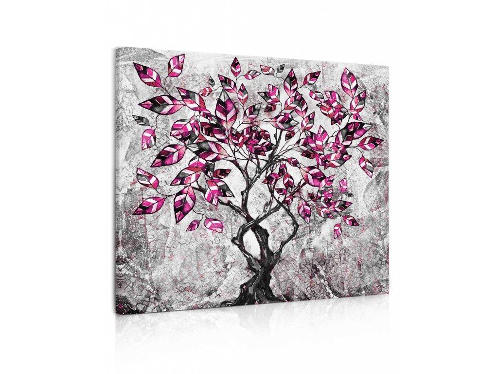 100363 malovany strom II