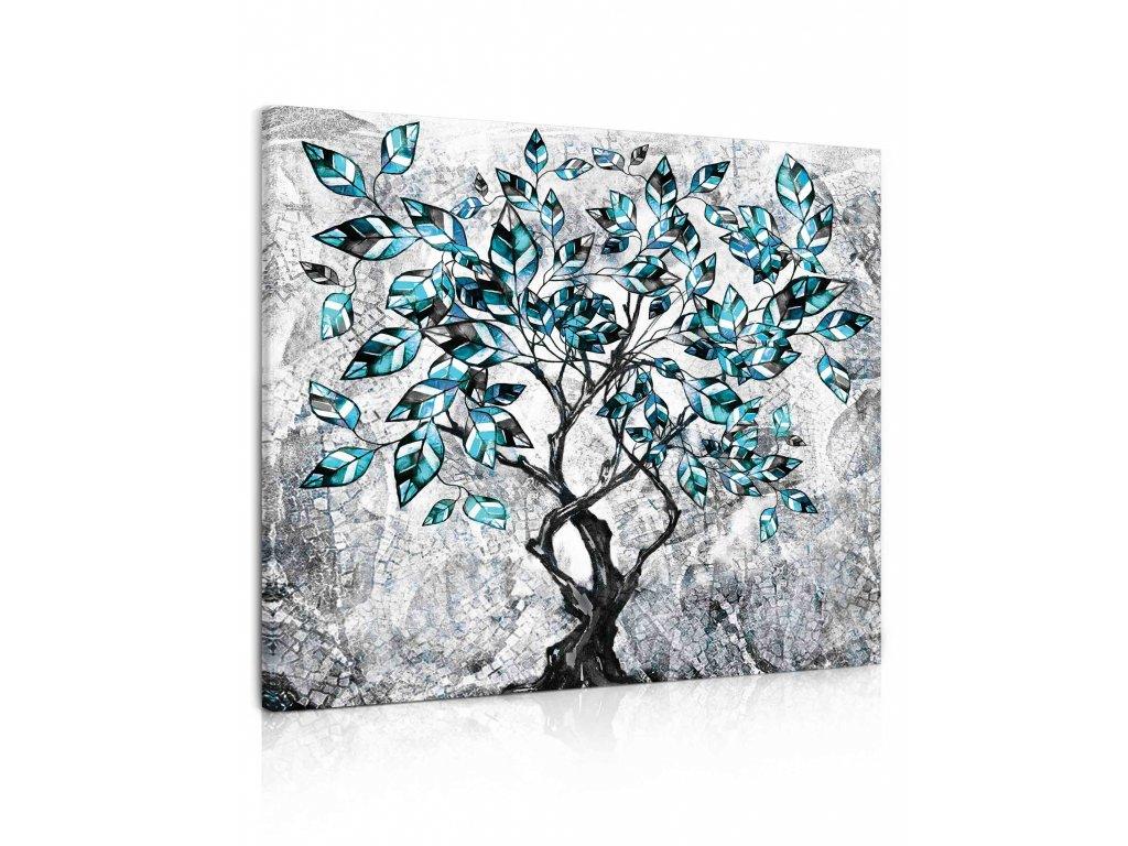 100365 obraz malovany strom IV