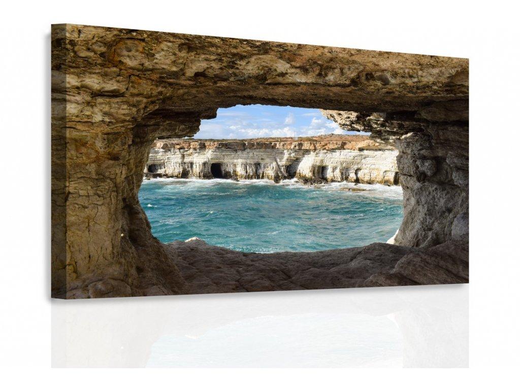 Obraz - Moře ve skále (Velikost 150x100 cm)
