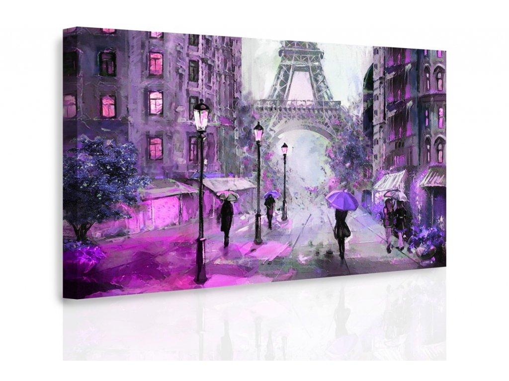 Obraz - Pařížská ulice II. (Velikost 150x100 cm)