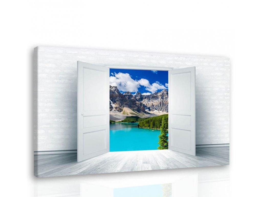 Obraz - Pohled do divočiny (Velikost 150x100 cm)