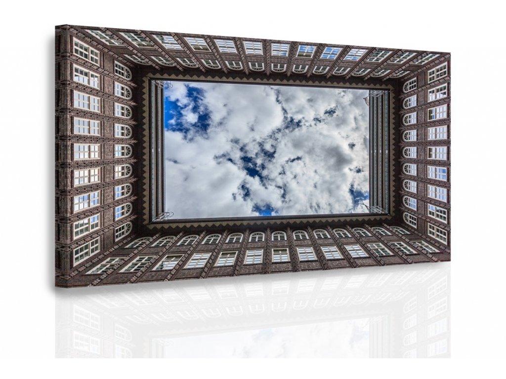 Obraz - Průhled na oblohu (Velikost 120x80 cm)