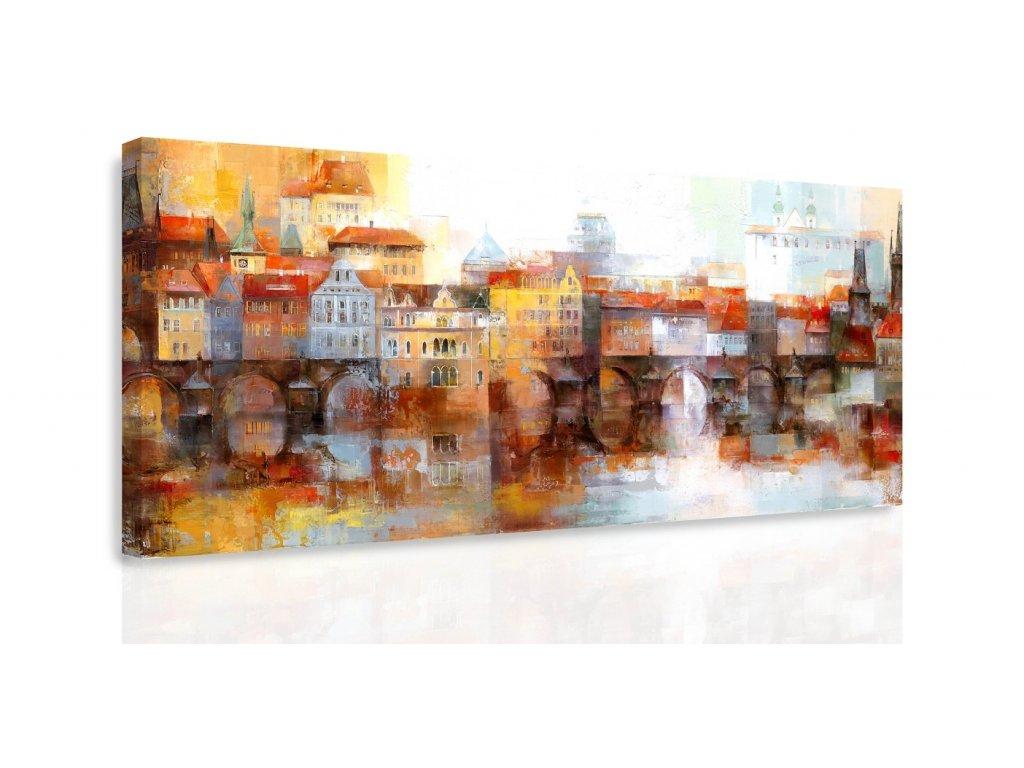 Obraz - Předměstí (Velikost 80x40 cm)