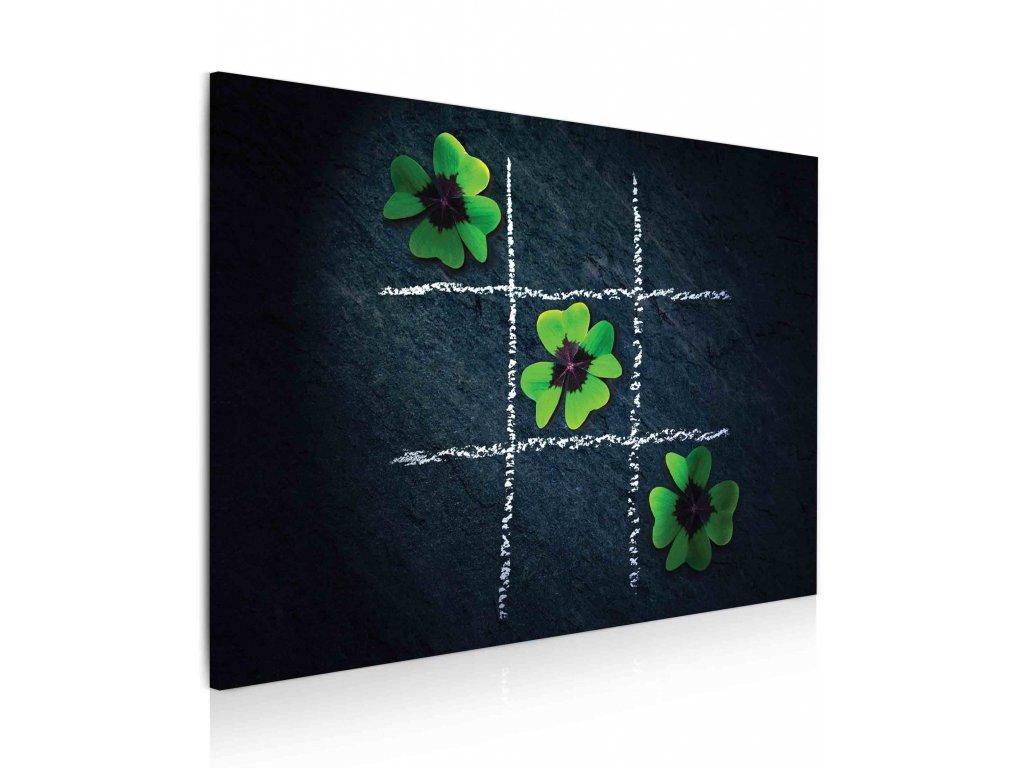100150 Obraz zelene stesti
