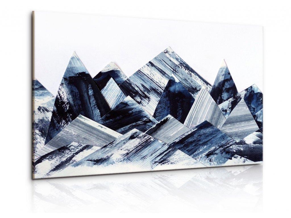 Obraz Abstraktní střepy (Velikost 120x80 cm)