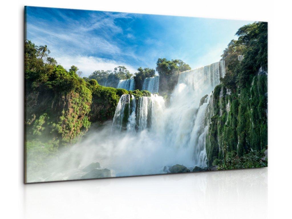Obraz Argentinský vodopád (Velikost 90x60 cm)