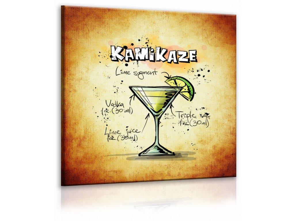 Obraz cedule Kamikaze (Velikost (šířka x výška) 30x30 cm)