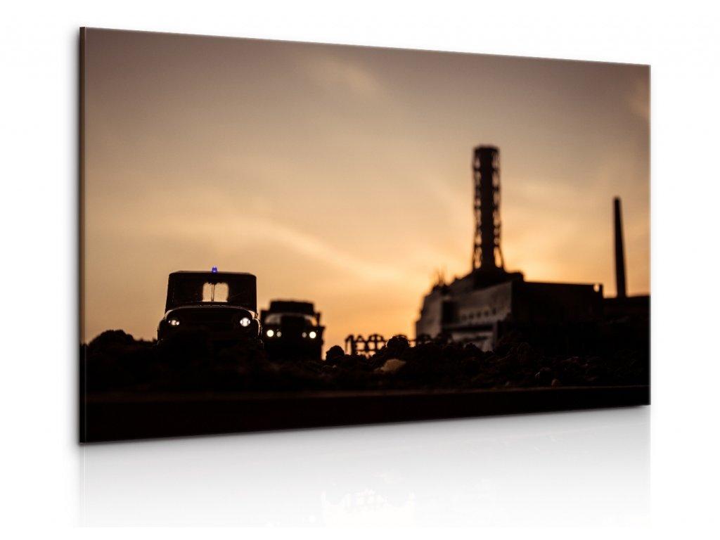 Obraz Černobylská elektrárna (Velikost 90x60 cm)
