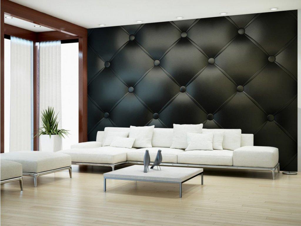 3D tapeta Luxusní prošívaná kůže (Rozměry (š x v) a Typ 147x105 cm - samolepící)