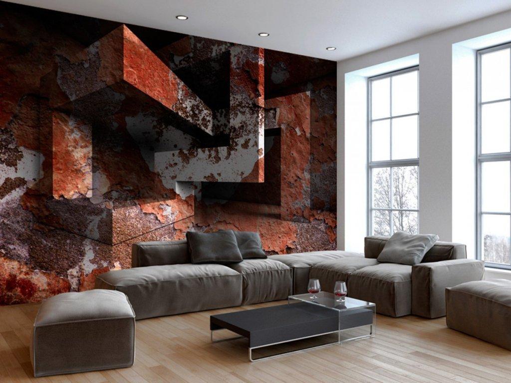 3D tapeta na stěnu (Rozměry (š x v) a Typ 147x105 cm - samolepící)