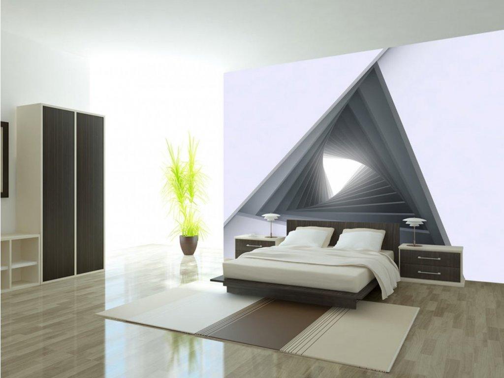 3D tapeta Okno do budoucnosti II. (Rozměry (š x v) a Typ 147x105 cm - samolepící)