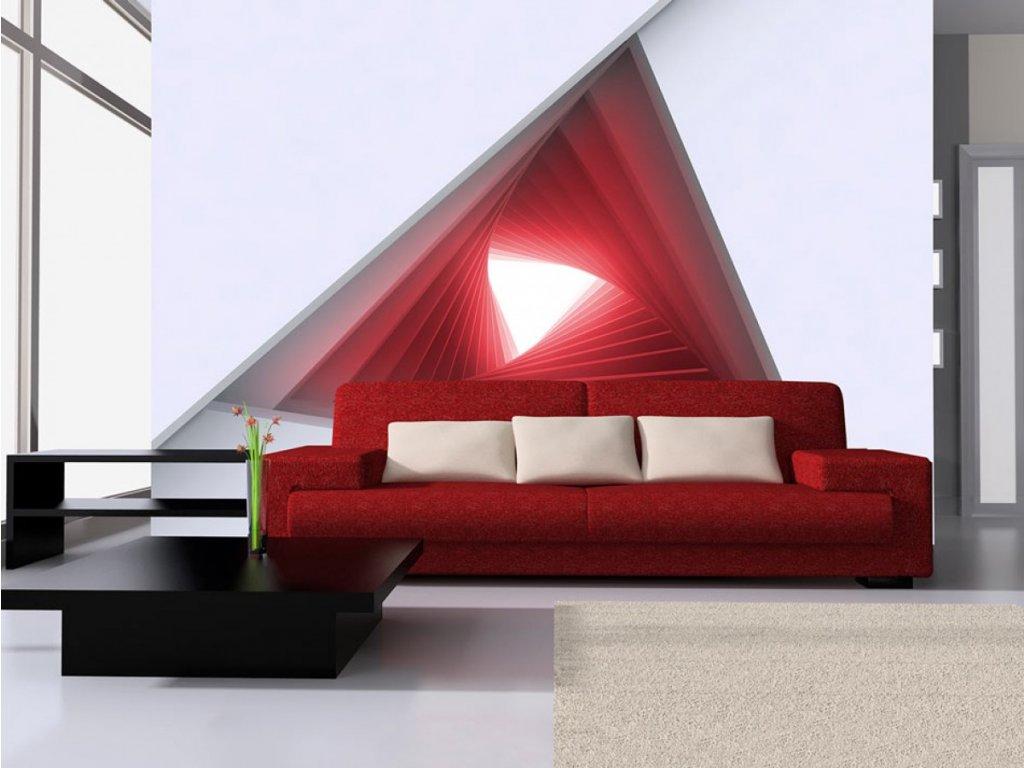 3D tapeta Okno do budoucnosti III. (Rozměry (š x v) a Typ 147x105 cm - samolepící)