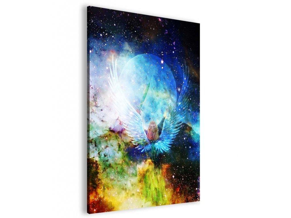 Abstraktní obraz andělské požehnání (Velikost (šířka x výška) 20x30 cm)