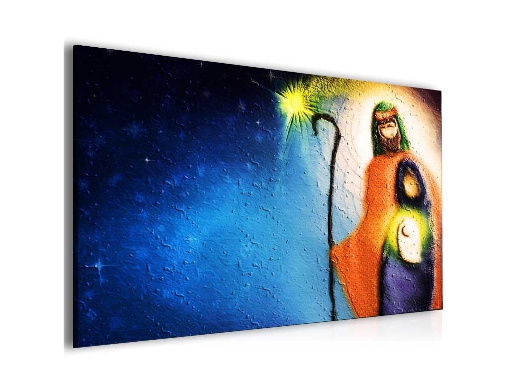 Abstraktní obraz požehnání (Velikost (šířka x výška) 100x70 cm)