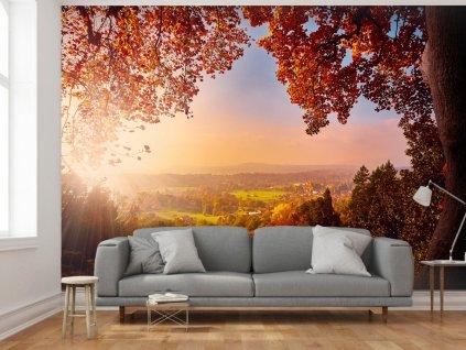 Podzimní panorama (Rozměry (š x v) a Typ 147x105 cm - samolepící)