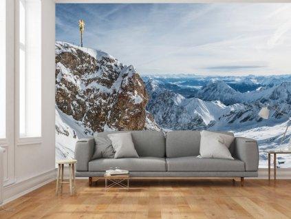 Pohled na Alpy (Rozměry (š x v) a Typ 147x105 cm - samolepící)