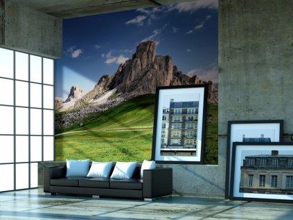 Tapeta italské Dolomity (Rozměry (š x v) a Typ 147x116 cm - samolepící)