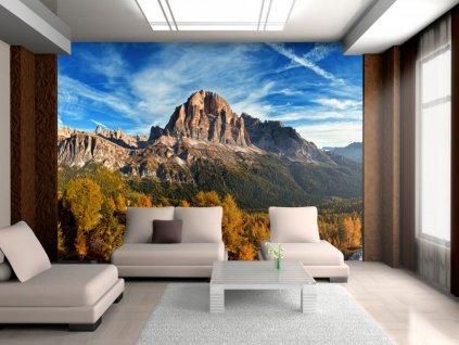 Tapeta pohled na italské Dolomity (Rozměry (š x v) a Typ 147x116 cm - samolepící)