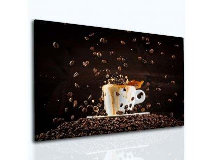 Vášeň pro kávu (Velikost (šířka x výška) 120x80 cm)