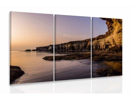 Vícedílný obraz - Moře (Velikost 150x100 cm)