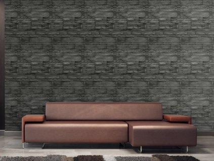 Žulová stěna (Klasické tapety 49x1000 cm - samolepicí)