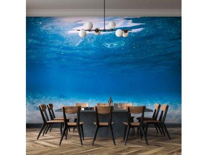Tapeta v hlubinách moře interior 1390711691