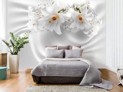 3D sametová lilie