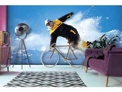 Tapeta Snowboardista