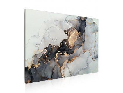 Obraz šedozlatá pryskyřice