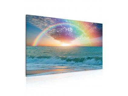 Obraz Duha nad mořem