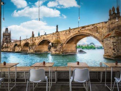 Tapeta Karlův most Praha