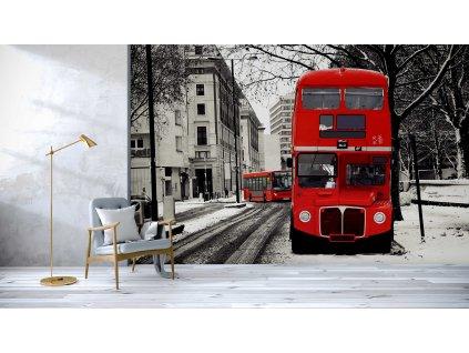 Tapeta London bus