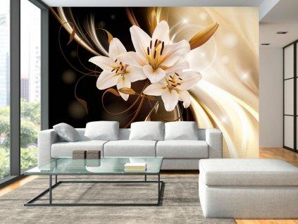 Fototapeta - Jemná lilie (Rozměry (š x v) a Typ 147x105 cm - samolepící)