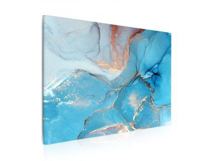 Obraz Modrá pryskyřice