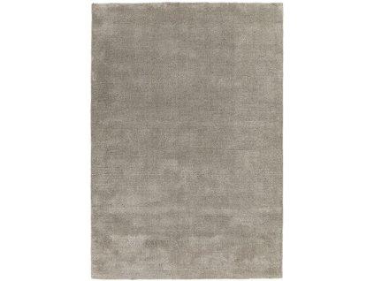 Moderní kusový jednobarevný shaggy koberec Baymax Mocha