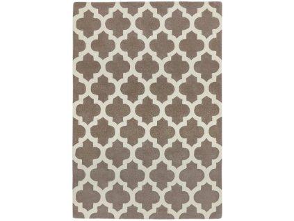 Moderní kusový koberec Bree Taupe