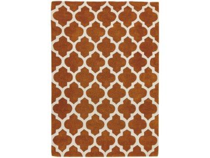 Moderní kusový koberec Bree Terracotta