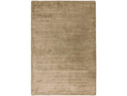 Moderní jednobarevný kusový koberec Stooges Taupe