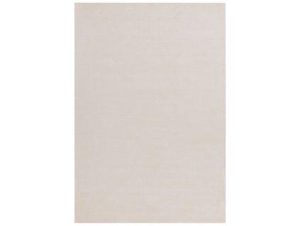 Moderní jednobarevný kusový koberec Stooges White