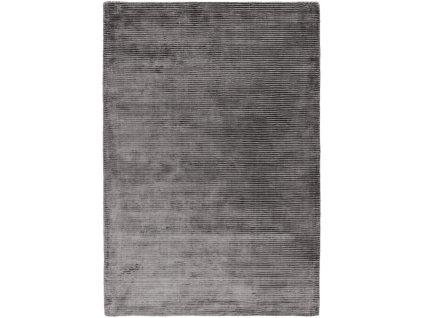 Moderní jednobarevný kusový koberec Stooges Zinc