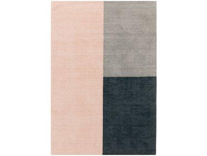 Moderní kusový koberec Ebony Pink