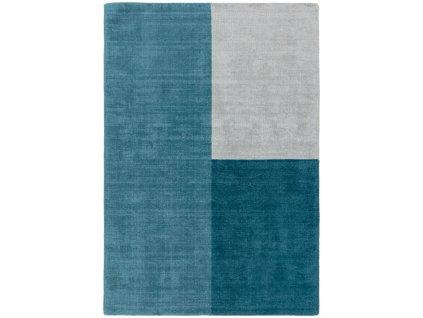 Moderní kusový koberec Ebony Teal