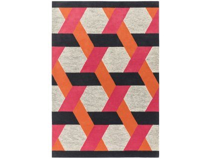 Moderní kusový koberec Moby Orange