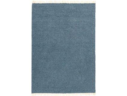 Moderní oboustranný indoor/outdoor kusový koberec Obel Blue