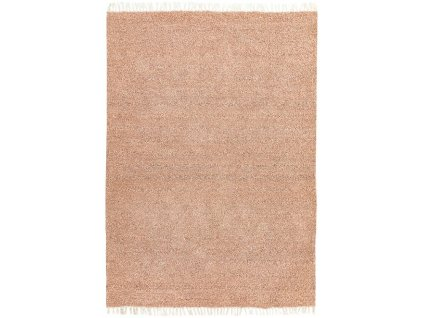 Moderní oboustranný indoor/outdoor kusový koberec Obel Pink