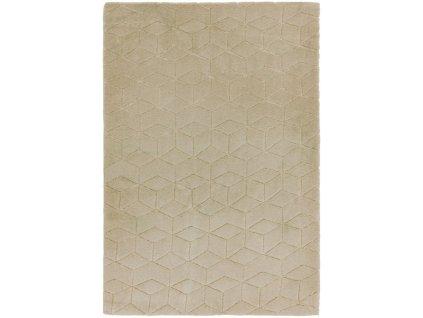 Moderní jednobarevný kusový koberec Devo Sand