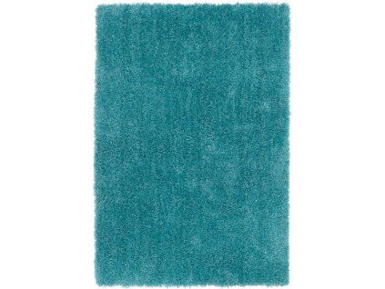 Moderní jednobarevný kusový koberec Eskimo Teal