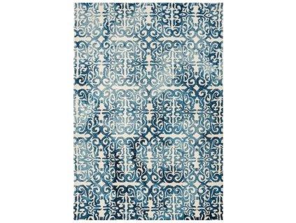 Moderní kusový koberec Airplane Blue