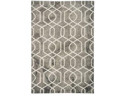 Moderní kusový koberec Airplane Grey